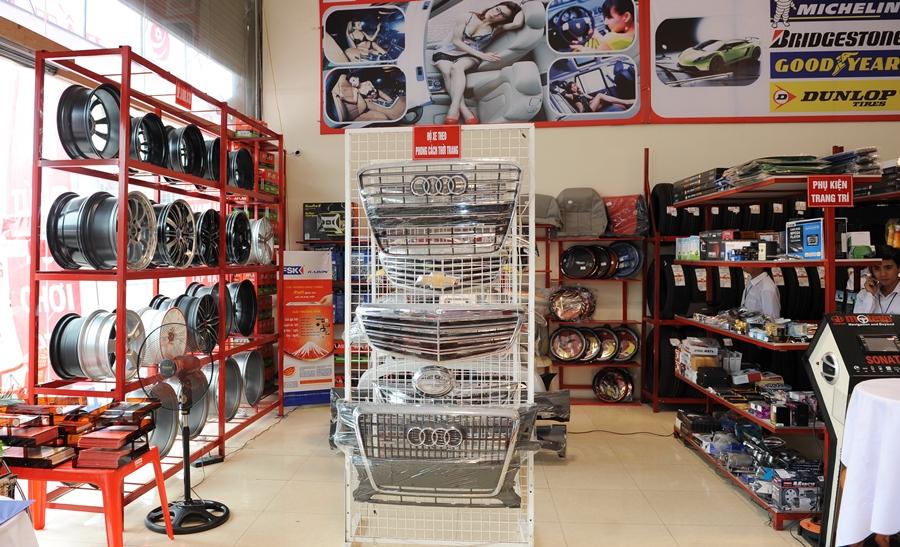 Cửa hàng Nội thất ô tô TP Vinh Nghệ An
